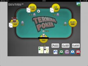 Die neue iPad Poker App von Terminal Poker