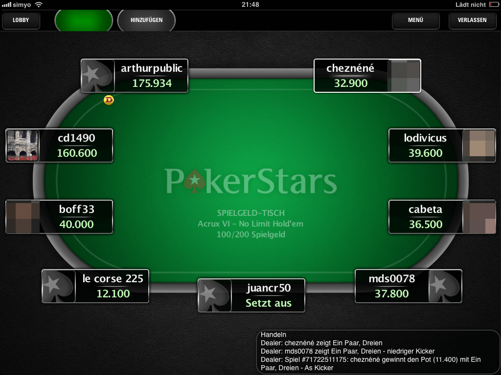pokerstars für mac