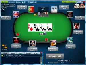 The William Hill Client comes in dark blue
