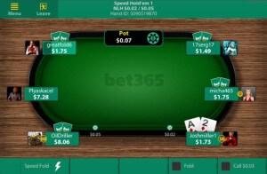 Speed Holdem auf dem iPad - die App von bet365 Poker macht es möglich