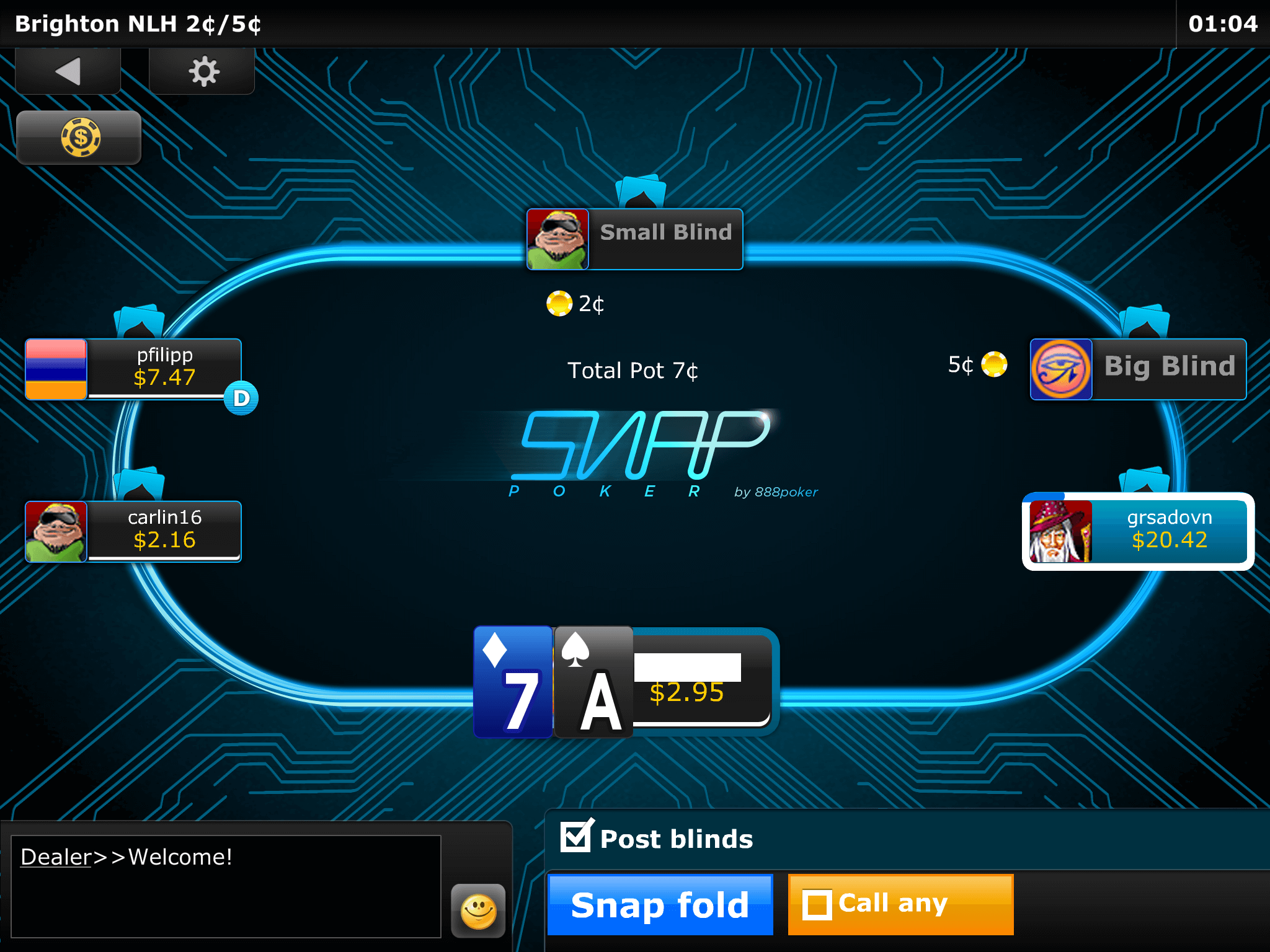 888 poker app download