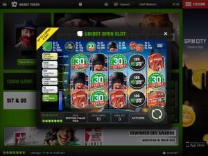 Unibet Poker App für iPad - Unibet Open Slot