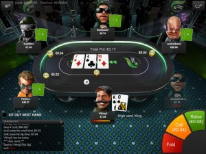 Interace Screenshot - Unibet Poker App für iPad