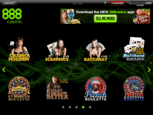 Live Dealer Roulette, Live Dealer Baccarat, Live Dealer Blackjack