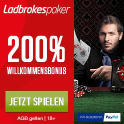 Ladbrokes Poker paypal