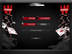Winamax App Screenshot Lobby