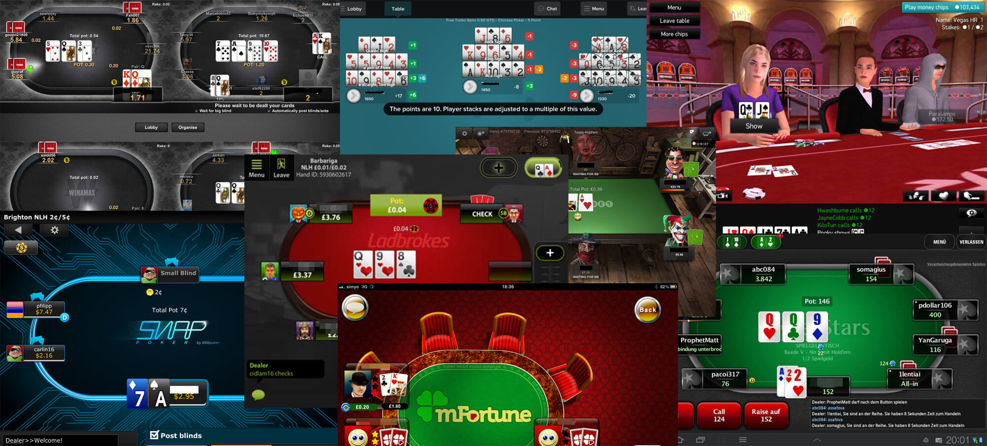 free texas holdem poker apps