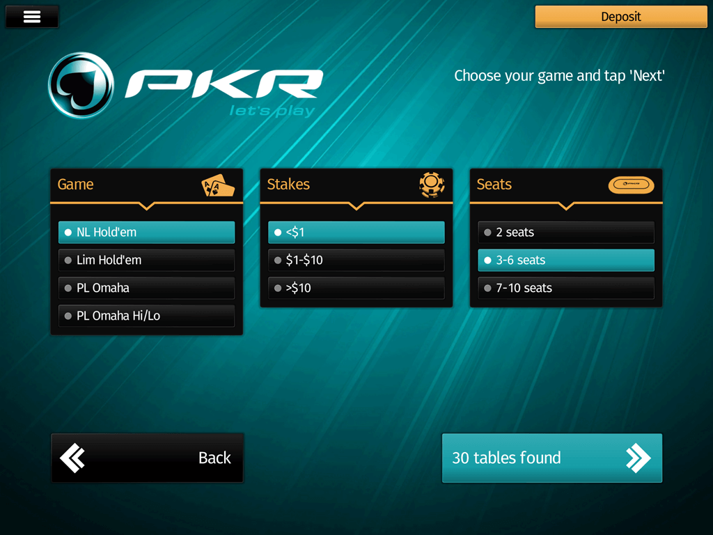 pkr casino android