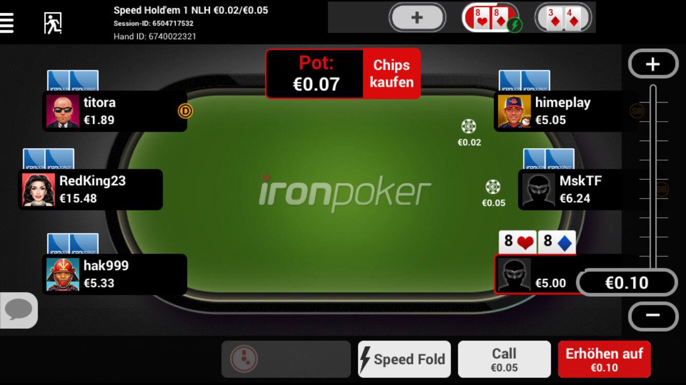 Titan poker android