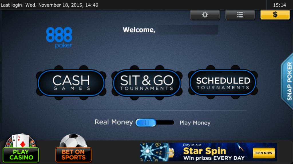 poker app test