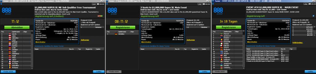 888poker super xl main event freeroll