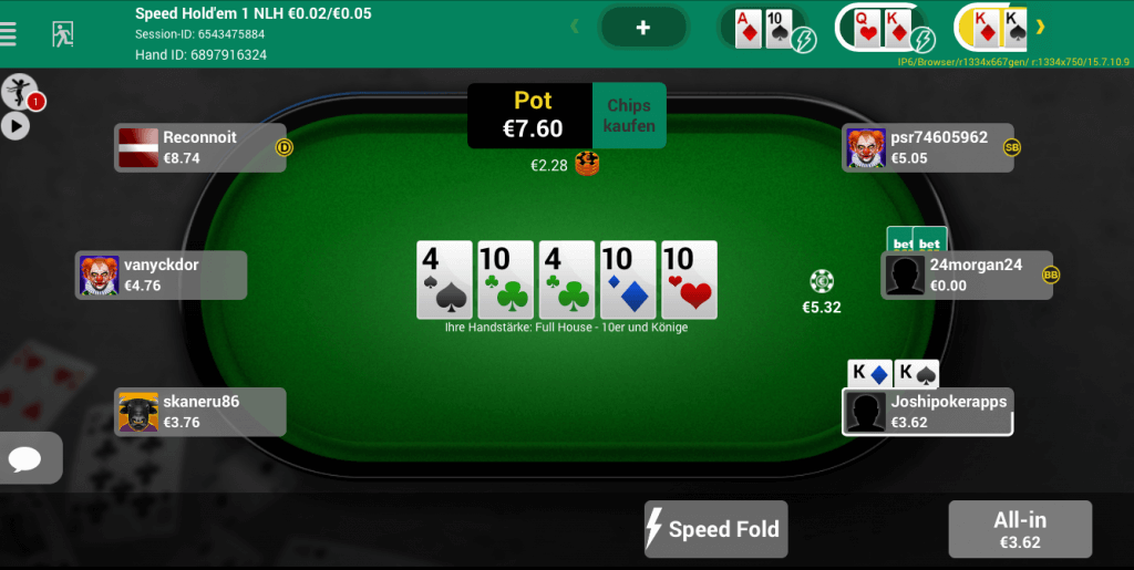 Virtual poker app poker rockford il