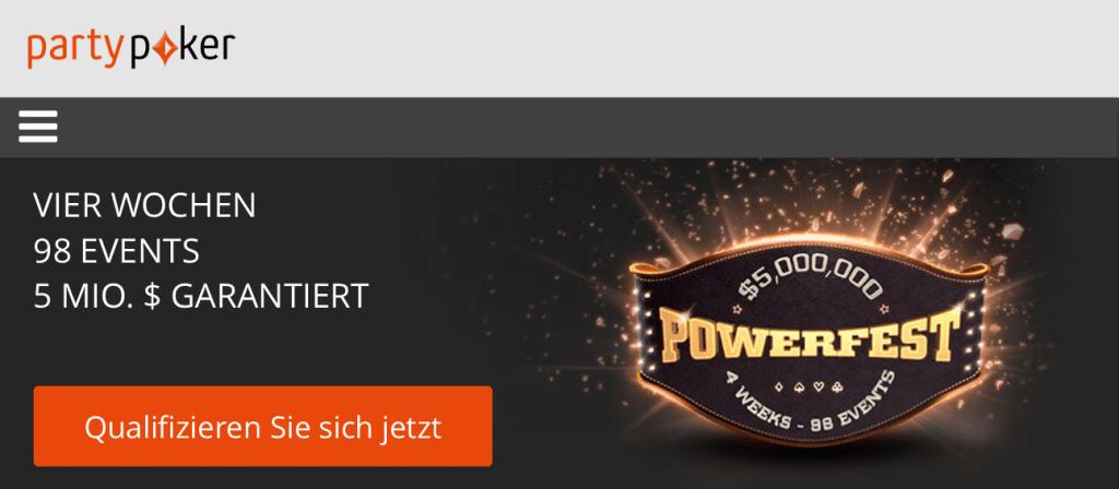PartyPoker Powerfest 2016