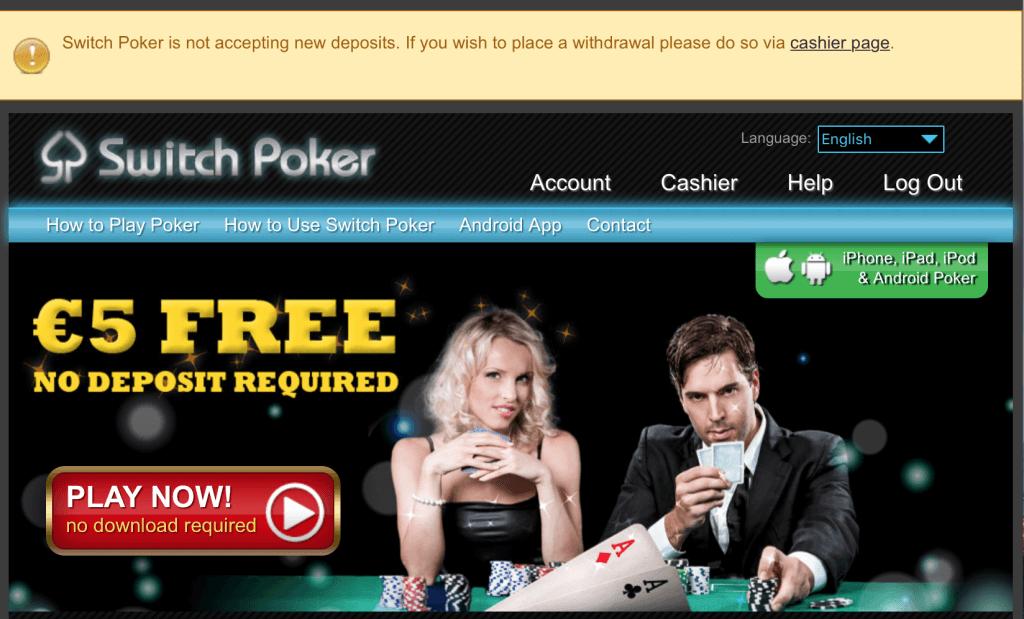 Switch Poker