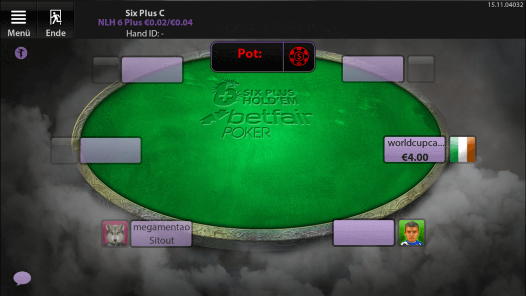 Betfair Poker 6+ Holdem