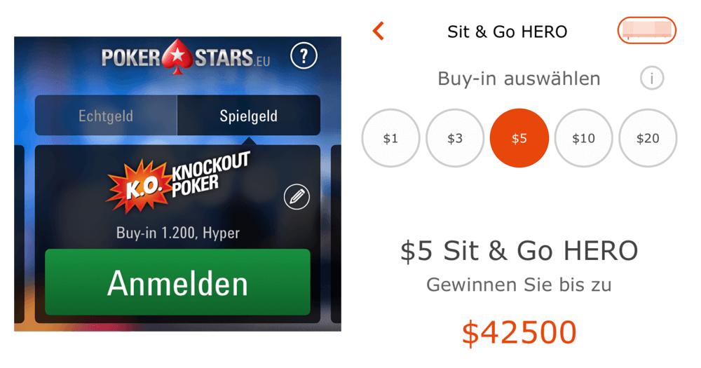 pokerstars app echtgeld