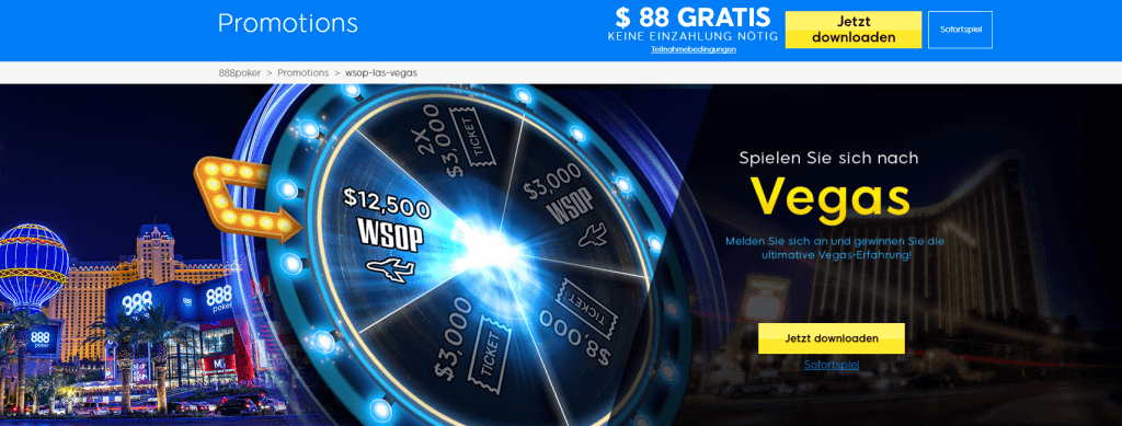 888poker las vegas 2017