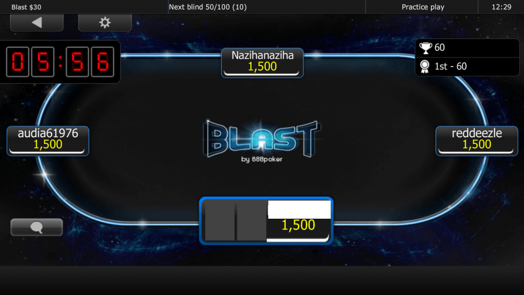 888 Blast Timer