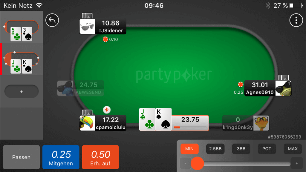 party poker app download