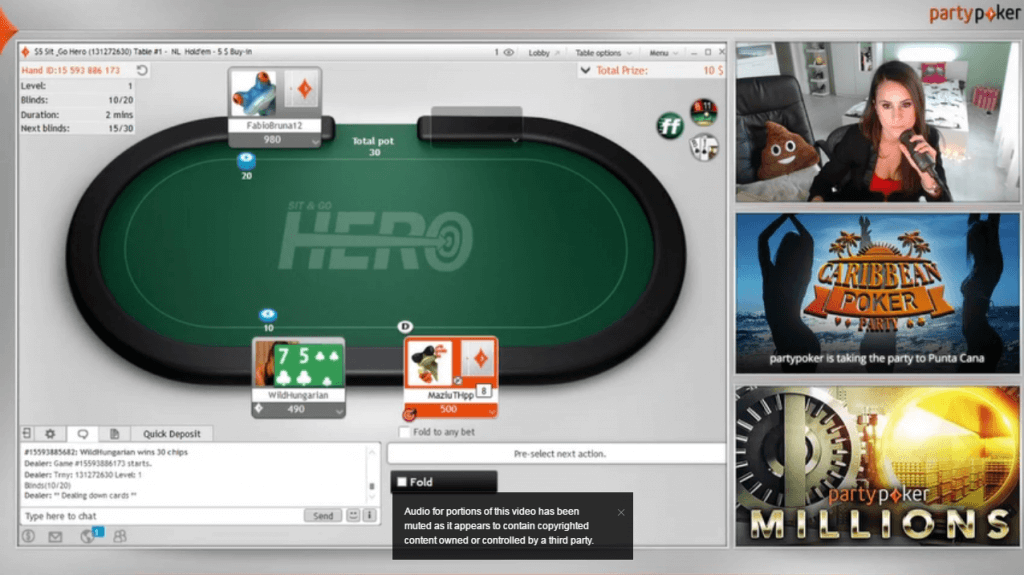 partypoker twitch tv