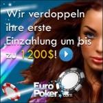 Ein EuroPoker Banner