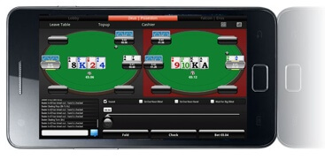 Switch Poker auf dem Samsung Galaxy S II