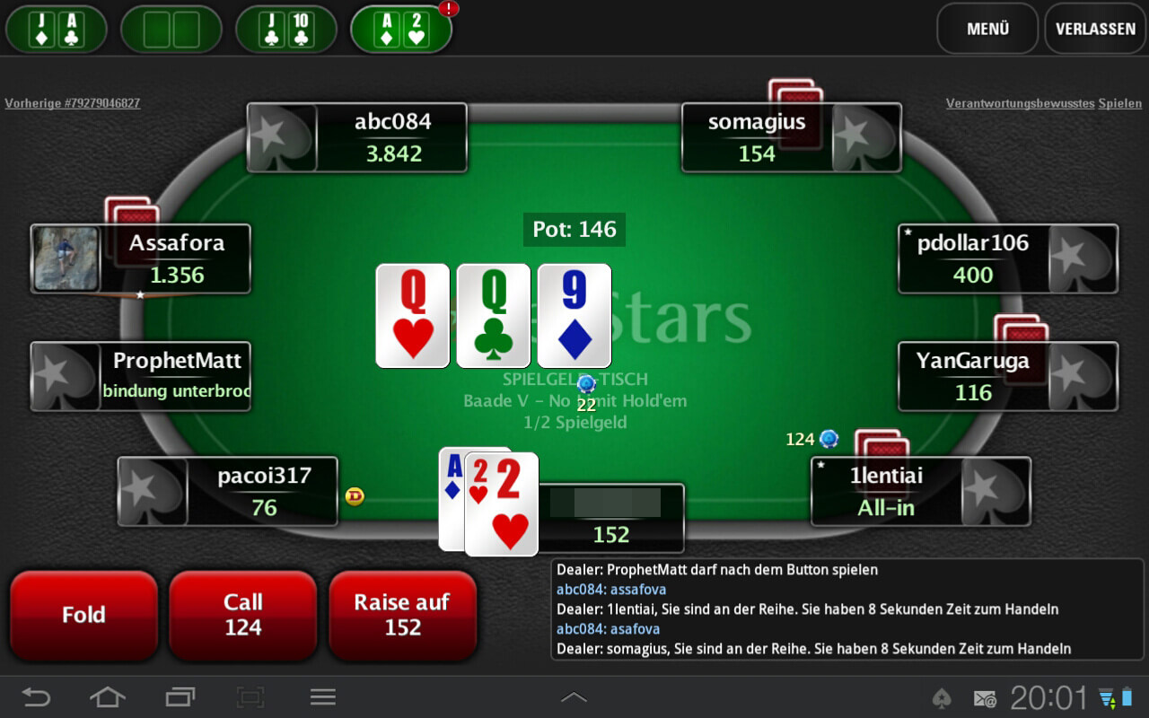 Full tilt poker galaxy s3