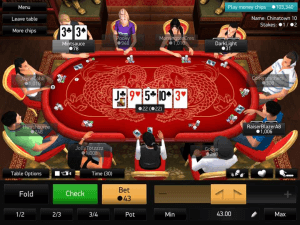 PKR Screenshot - iOS Poker App for iPhone and Android