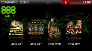 888 mobile casino app for iphone screeenshot