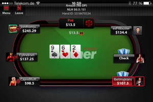 Winner Poker App Screenshot