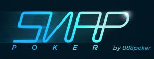 das snap poker logo von 888poker