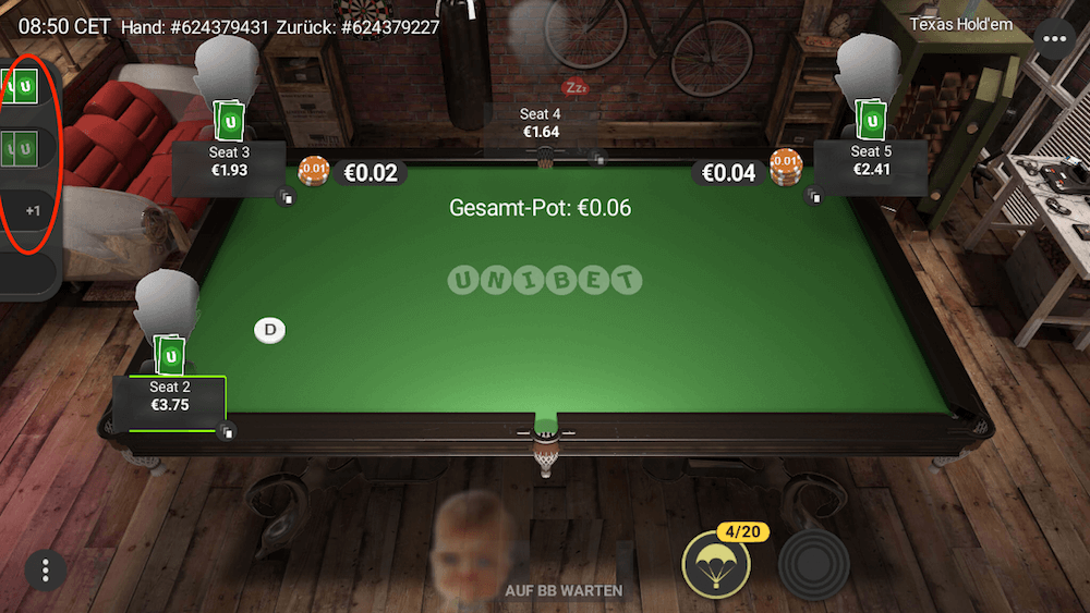 Unibet Poker App Multitabling