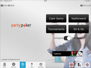 PartyPoker App neue Lobby 3.0