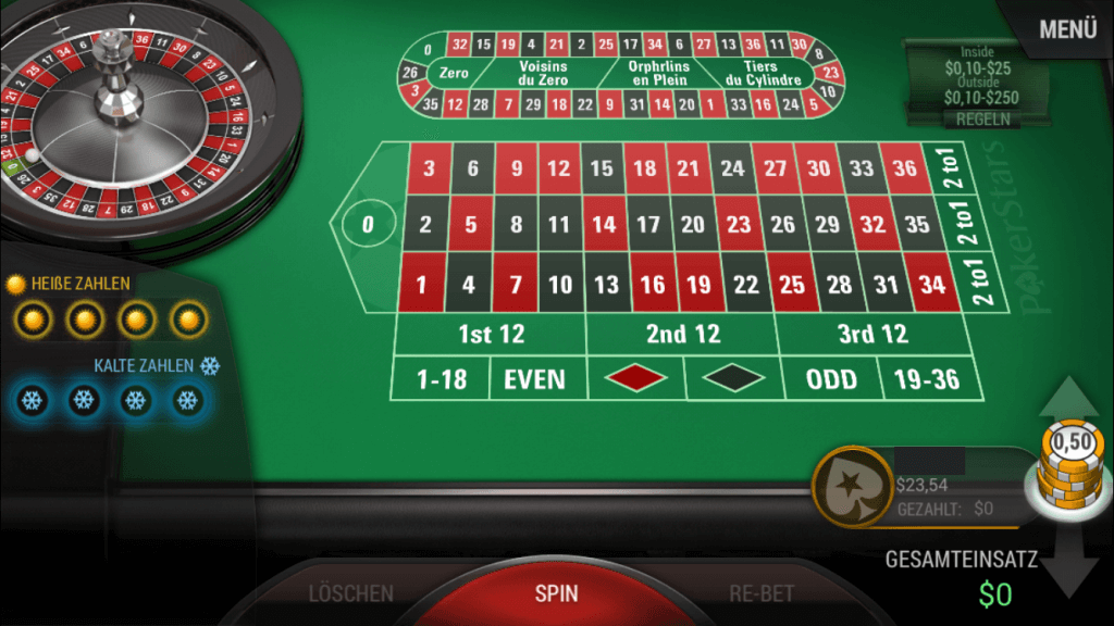 Pokerstars Casino Roulette