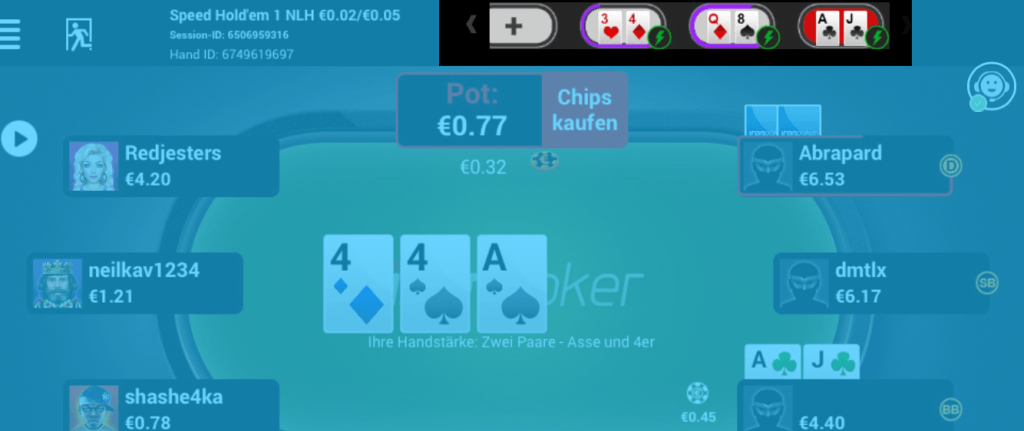 Iron Poker Multitabling