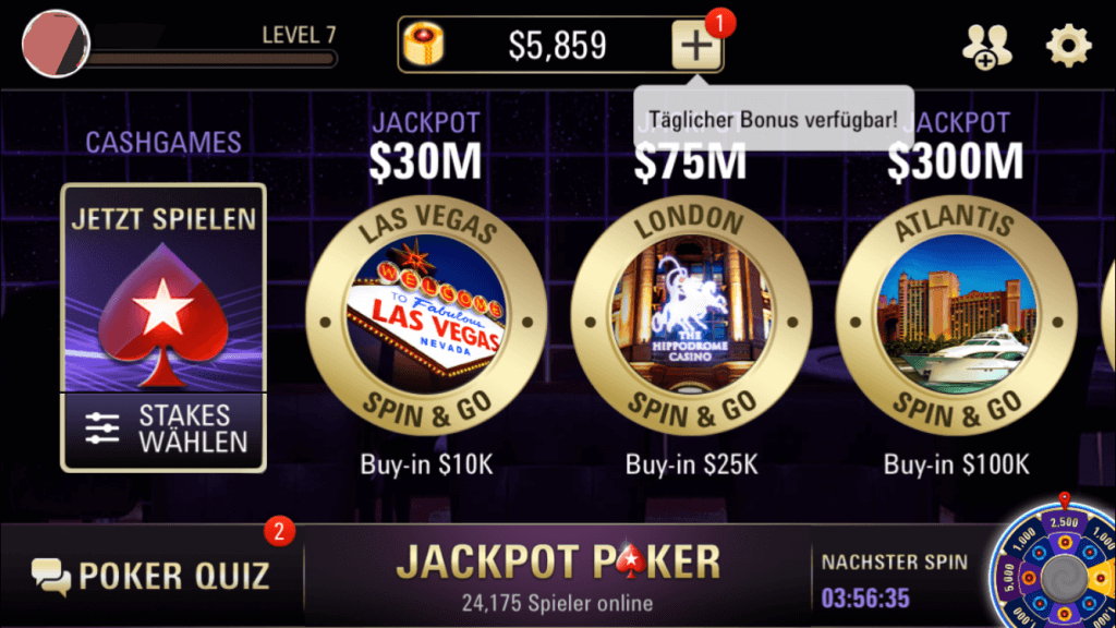 Jackpot Poker iPhone