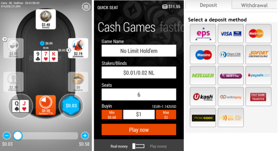 PartyPoker Windows Phone App