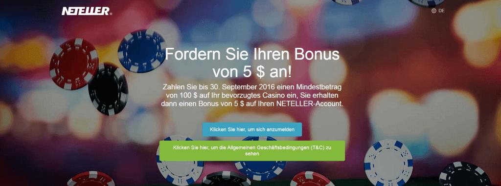 Neteller Bonus