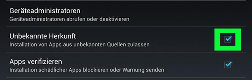 Android Poker apk installieren
