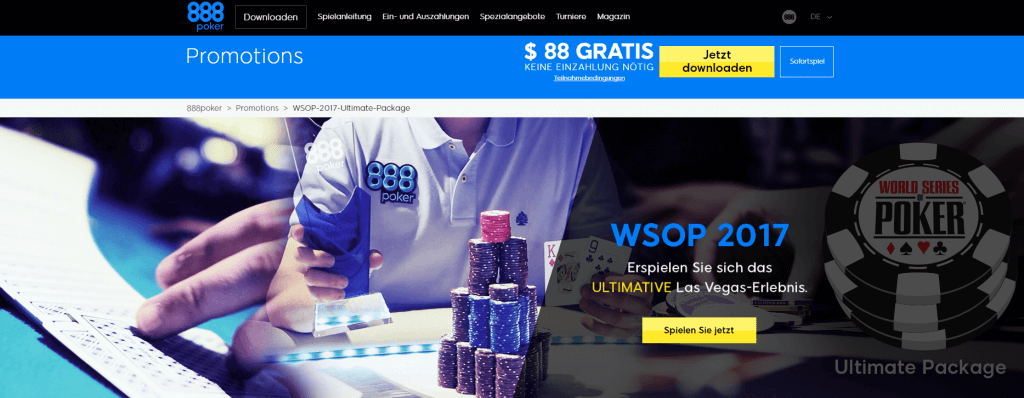 888poker wsop Ultimate