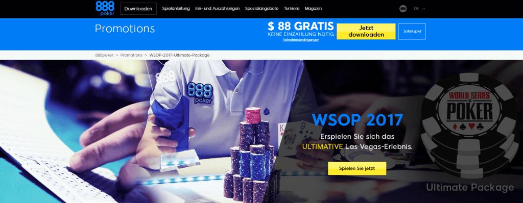 888poker wsop Ultimate