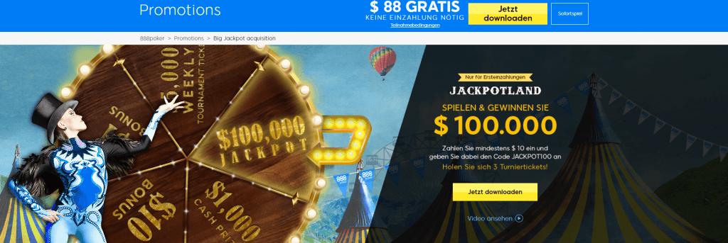 888poker Jackpotland